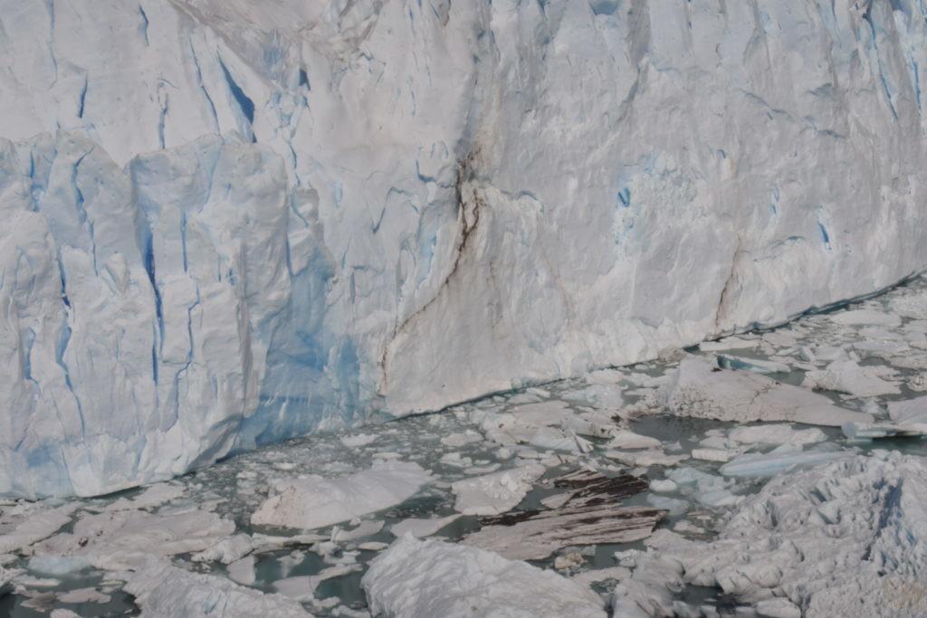 展望台からの氷河 アップ