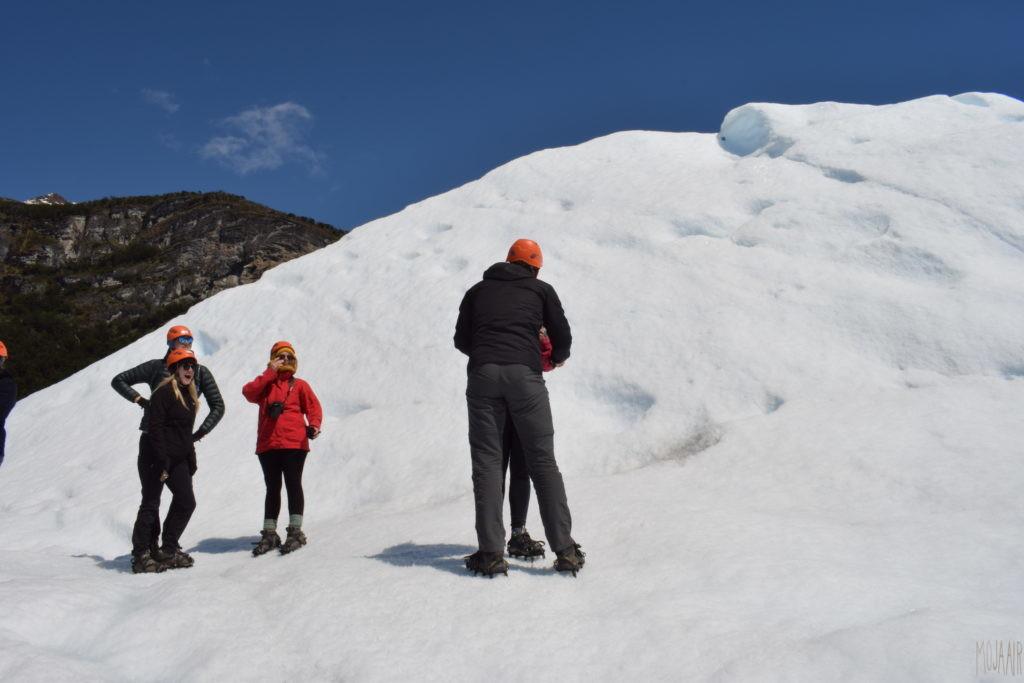 氷河上のプロポーズ