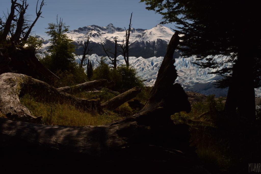 氷河からの帰路