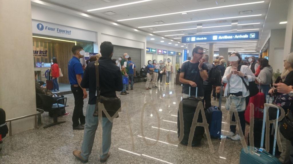 空港フロア