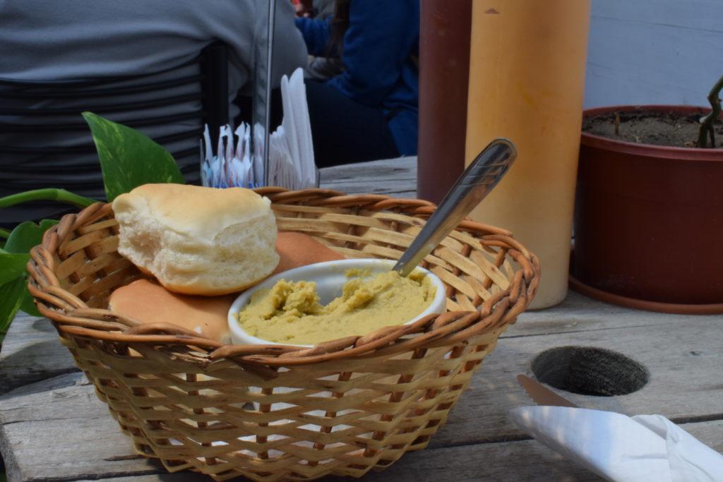 bread hummus
