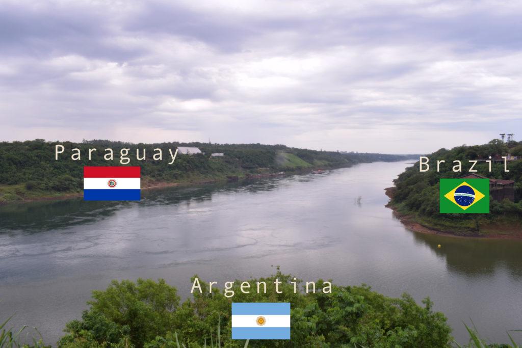 paraguay brazil argentina