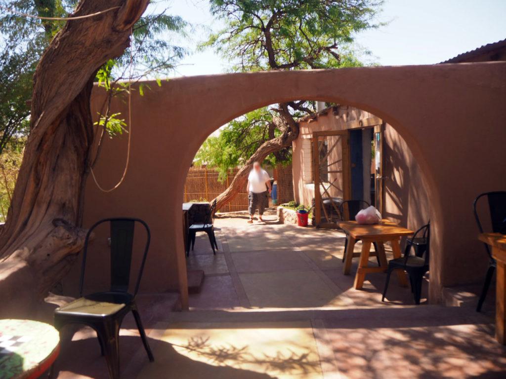 hostel outside